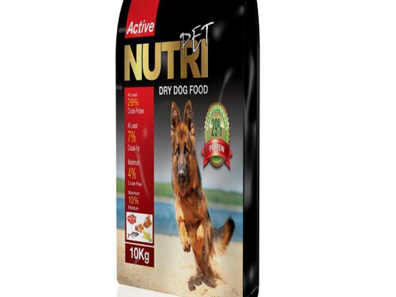برترین کفیت مواد اولیه-29درصد پروتئین-غذای کامل سگ-مقوی و غنی شده با ویتامین ها-حاوی پروبیوتیک