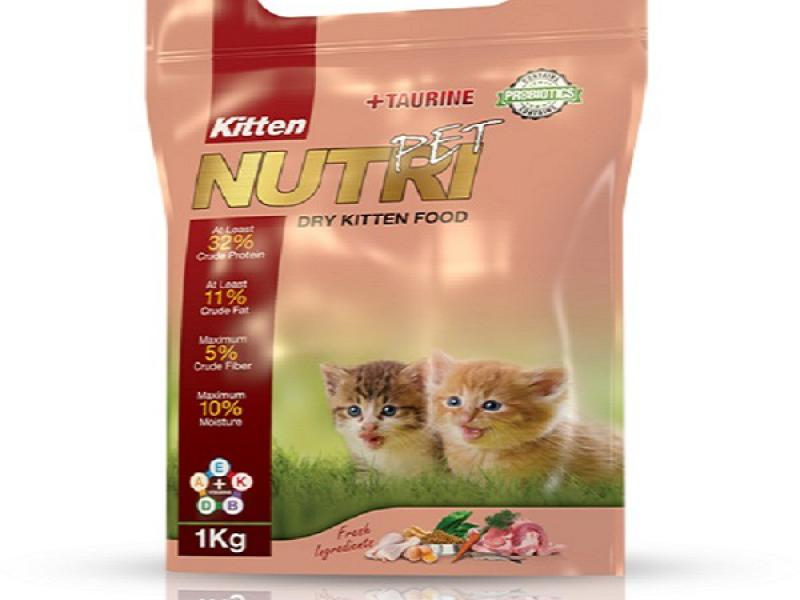غذای خشک بچه گربه-رشد سریع تر-تامین مواد مورد نیاز-قابل استفاده با شیر و خشک