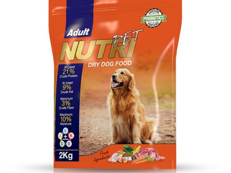 21 درصد پروتئین - غذای کامل سگ - حاوی پروبیوتیک - حاوی ویتامین