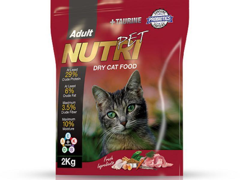 مناسب-غذای گربه بالغ-غذای کامل-حاوی پروبیوتیک-29درصد پروتئین