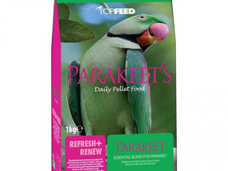مناسب-برترین کیفیت-غذای ویتامینه-مخصوص طوطی پاراکیت