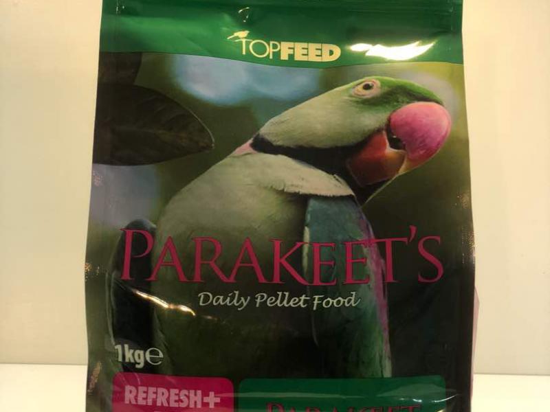 مناسب - برترین کیفیت - غذای ویتامینه - مخصوص طوطی پاراکیت