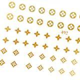 لنز ناخن یاس کد ۴۹۲ طلایی لنز ناخن کد ۴۹۲ طلایی