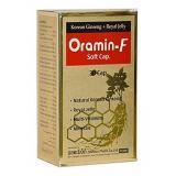 اورامین اف  کپسول ژلاتینی اورامین اف دوون فارم حاوی ویتامینهای گروه B ،A ،C ،D ،E، جینسینگ و رویال ژلی است که این محصول برای رفع خستگی و ترمیم سریع تر زخمها و همچنین تقویت سیستم ایمنی بدن بسیار مفید و تاثیرگذار است.