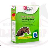 موش کش برودیتاپ پاستا زاپی گاردن ساخت ایتالیا_500 گرمی موش کش برودیتاپ پلت بر مبنای دومین نسل از گروه brodifacoum های ضد انعقاد خون ( آنتی کواگولانت ) تهیه شده است. که بازدارنده چرخه ویتامین k1 و منهدم کننده این ویتامین میباشد یک وعده غذایی آن برای هر جونده ای کشنده است.