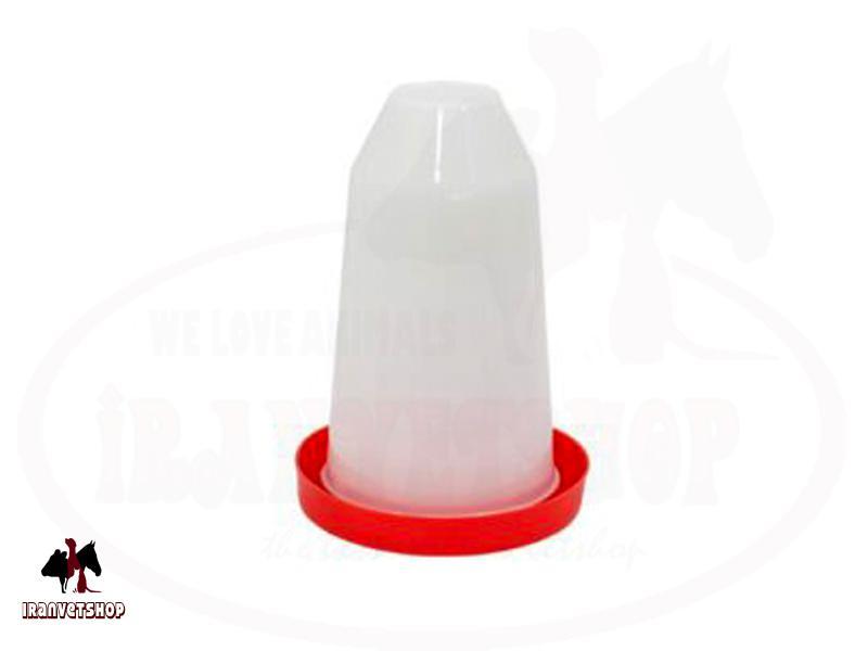 لوازم مرغداری-آبخوری مرغداری-دانخوری مرغ داری-مرغداری-تجهیزات طیور-آبخوری 6 لیتری-آبخوری دستی قفلی